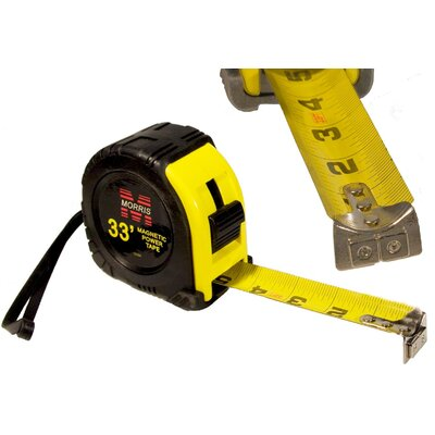 "Morris Products 1.25"" Tape Measures with Magnetic tip"