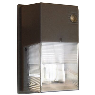 Morris Products 1 PL x 13W Mini Fluorescent Wall Pack in Bronze