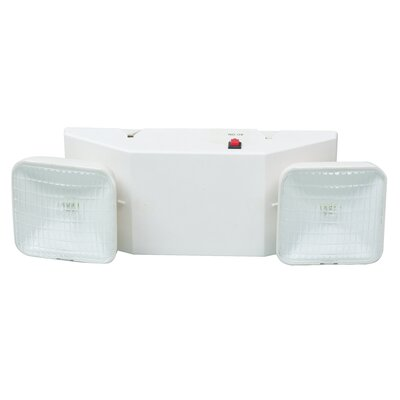 Morris Products Emergency Lighting Unit in White