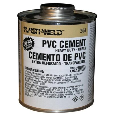 Morris Products Quart Heavy Bodied 204 Clear Cement