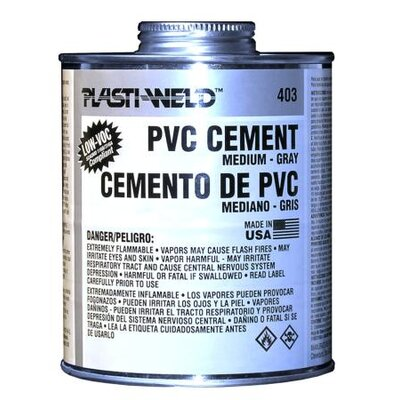 Morris Products Pint Medium Bodied 403 Gray Cement