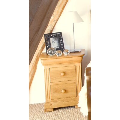 Chanter Furniture Saint Venant 3 Drawer Bedside Table