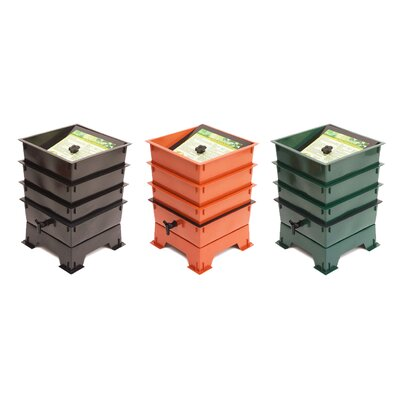 Nature's Footprint Worm Factory 3 Tray Composter