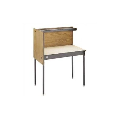 Da-Lite Beta Particle Board Study Carrel Add On