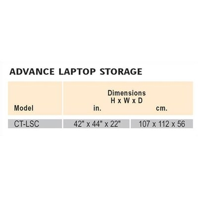 Da-Lite 30 Laptop Storage Cart