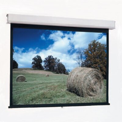 "Da-Lite High Contrast Matte White Advantage Manual with CSR - AV Format 84"" x 84"""
