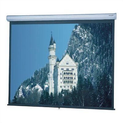 "Da-Lite Matte White Model C Manual Screen - 69"" x 110"" 16:10 Ratio Format"
