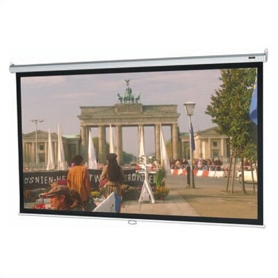 "Da-Lite High Contrast Matte White Model B Manual Screen - 57.5"" x 92"" 16:10 Ratio Format"
