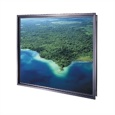 "Da-Lite Da-Glas Unframed Rear Projection Screen - 81"" x 108"" Video Format"