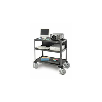 Da-Lite Pixmobile Advance Equipment Table Flip Up Shelf