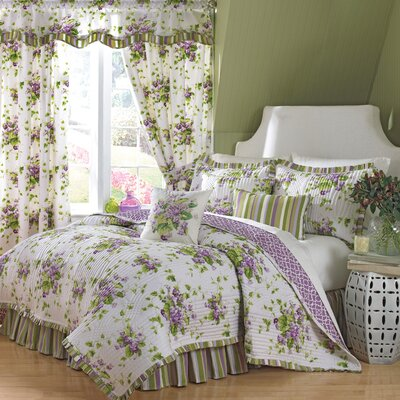 Waverly Sweet Violets Cotton Quilt Collection