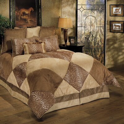 Sherry Kline Safari 8 Piece Comforter Set