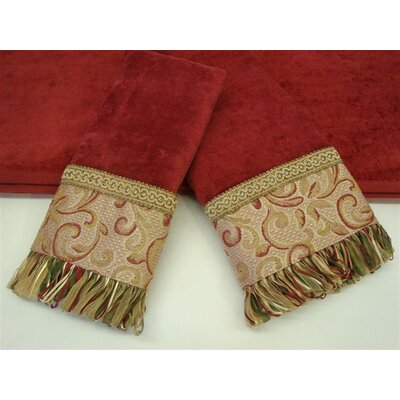 Sherry Kline Swirl Paisley Decorative 3 Piece Towel Set