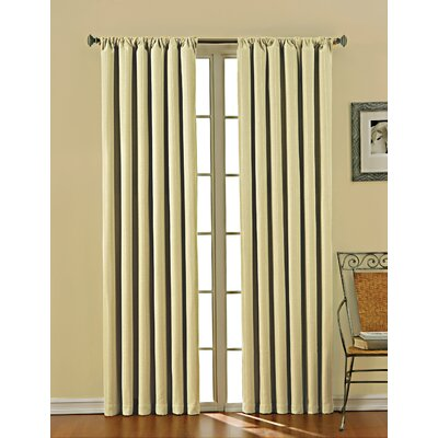 Eclipse Curtains Theodore Blackout Window Panel in Linen