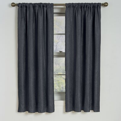 Eclipse Curtains Milano  Rod Pocket Window Curtain Single Panel