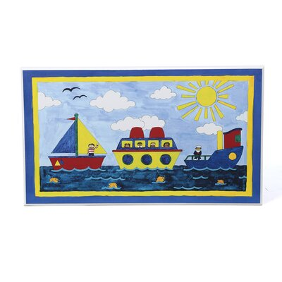 <strong>Art 4 Kids</strong> Big Boatin  Wall Art