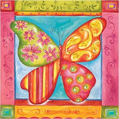 Art 4 Kids Way Cool Butterfly Wall Art