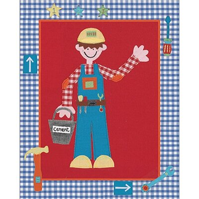 Art 4 Kids Builder 1 2 3 Wall Art