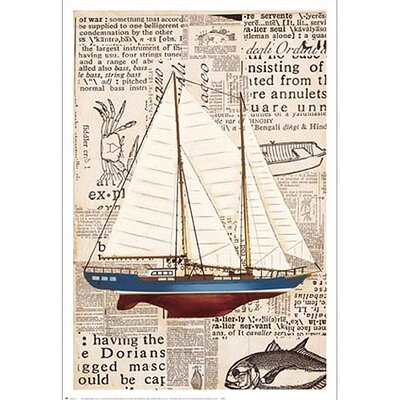 Art 4 Kids Nautical Motif I Wall Art