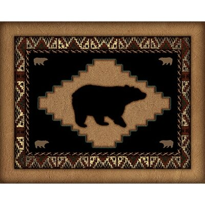 Western Wildlife Bear Wall Art