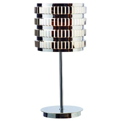 "Gen-Lite Axis 25"" H Table Lamp with Drum Shade"