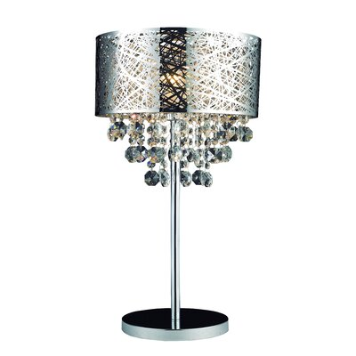 """Gen-Lite Helix 24"""" H Table Lamp with Drum Shade"""