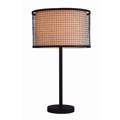 """Gen-Lite Industrial Chic I 29"""" H Table Lamp with Drum Shade"""