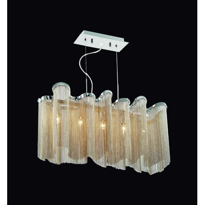 Gen-Lite Alegria 5 Light Pendant