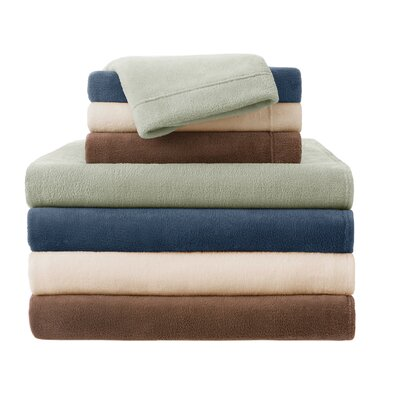 JLA Basic Solid Micro Raschel Sheet Set