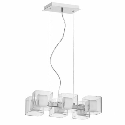 Dainolite Courtney 6 Light Pendant