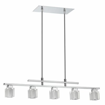 Dainolite 5 Light Horizontal Pendant