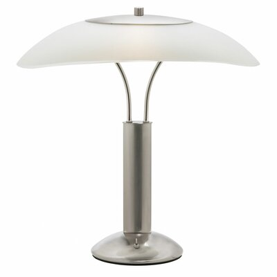 Dainolite Contemporary 2 Light Table Lamp with Shade