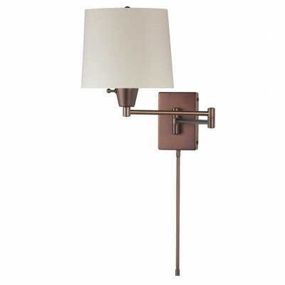 Dainolite 1 Light Swing Arm Wall Sconce