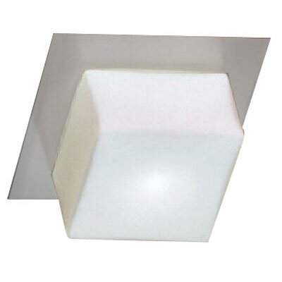Dainolite Modern Ceiling / Wall 1 Light Semi Flush Mount