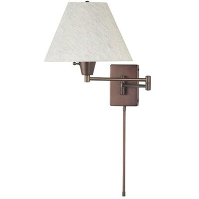 Sale alerts for Dainolite  1 Light Swing Arm Wall Lamp - Covvet