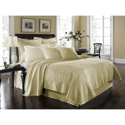 Historic Charleston King Charles Matelasse Coverlet Collection
