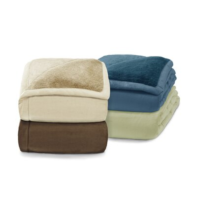 ComfortTech 3M Cyprus Thinsulate Micromink Blanket in Pearl