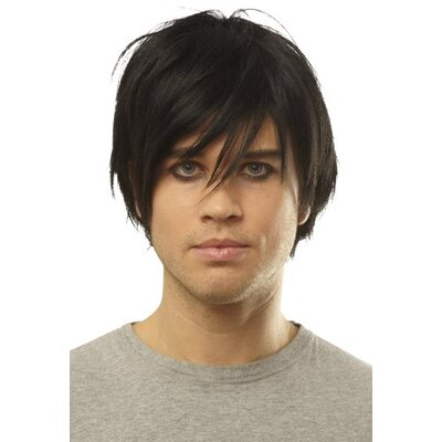 Franco Emo Wig in Black