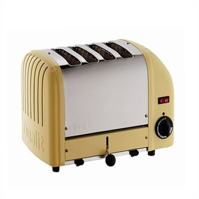 Dualit 4 Slice Toaster in Canary Yellow