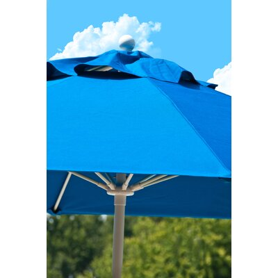 Frankford Umbrellas 7.5' Square Fiberglass Market Umbrella
