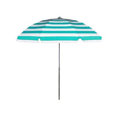 Frankford Umbrellas 7.5' Steel Marine Striped Patio Umbrella