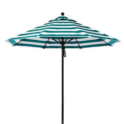 Frankford Umbrellas 9' Fiberglass Striped Market Umbrella