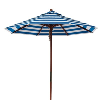 Frankford Umbrellas 9' 8-panel Striped Umbrella