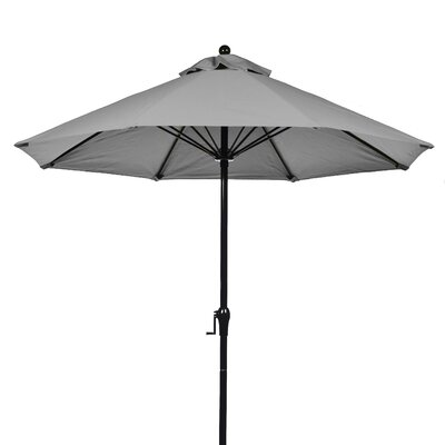 9' Fiberglass Crank-up Market Umbrella