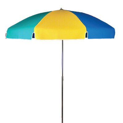 Frankford Umbrellas 7.5' Steel Marine Patio Umbrella with Tilt