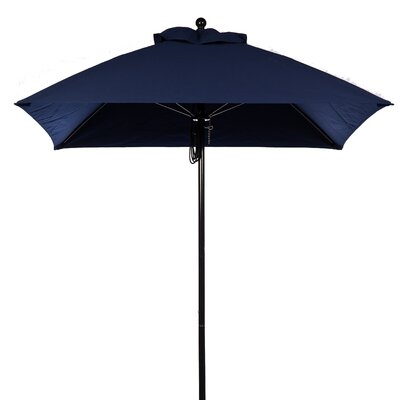 6.5' Square Fiberglass Market Umbrella