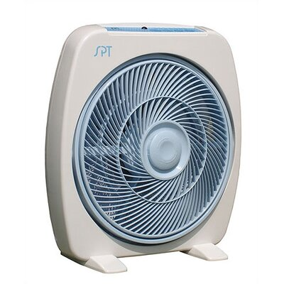 "Sunpentown 12"" Box Fan w/ Remote"