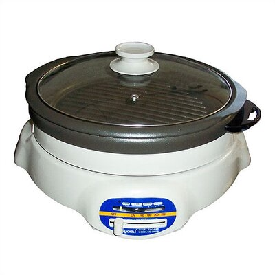 SPT Shabu Shabu and BBQ Roaster with Lid