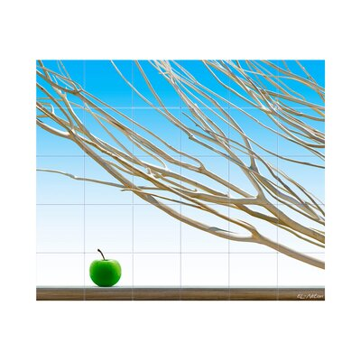 LMT Tile Murals Branches Kitchen Tile Mural in Multi-Colored