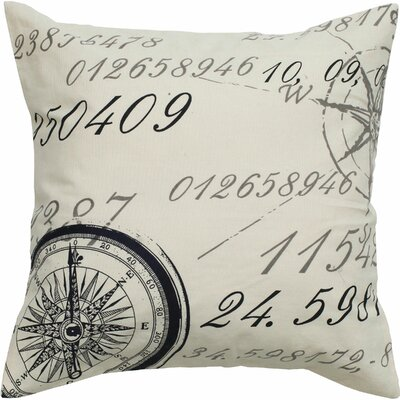 Rizzy Home Number Pillow